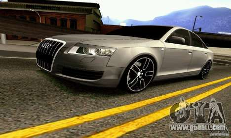 Audi A6 Blackstar for GTA San Andreas side view