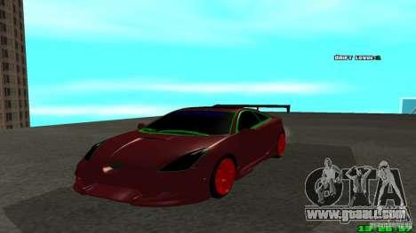Toyota Celica v2 for GTA San Andreas