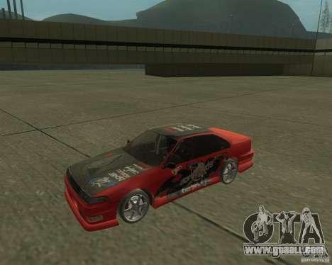 Nissan Cefiro A31 (D1GP) for GTA San Andreas right view