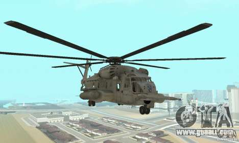 Sikorsky MH-53 for GTA San Andreas