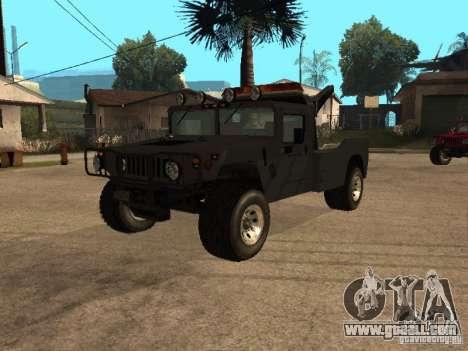 H1 HUMMER truck for GTA San Andreas