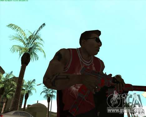 Blood Weapons Pack for GTA San Andreas seventh screenshot