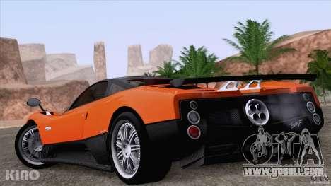 Pagani Zonda F for GTA San Andreas engine