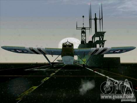 Aircraft from the game behind enemy lines 2 for GTA San Andreas back left view