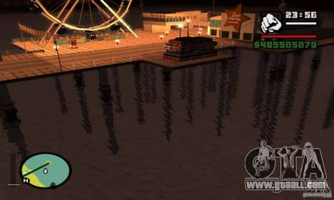 0.075 ENBSeries (just water) for GTA San Andreas forth screenshot