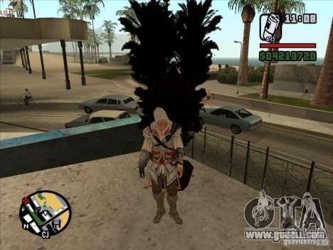 Ezio auditore de Firenze for GTA San Andreas forth screenshot