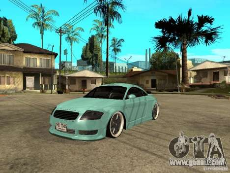 Audi TT for GTA San Andreas