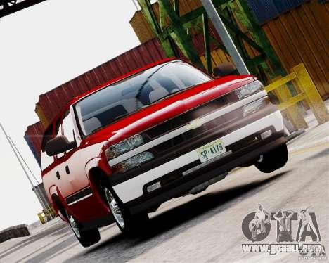 Chevrolet Suburban 2006 V1.1 CIVIL for GTA 4 left view