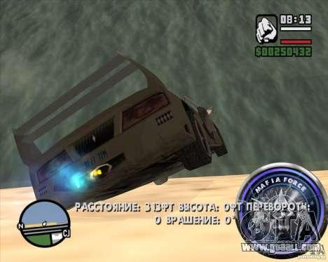 Speedometer-2 for GTA San Andreas fifth screenshot