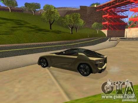 Bertone Mantide for GTA San Andreas right view