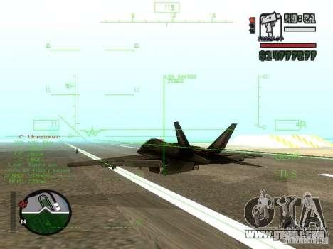 Xa-20 razorback for GTA San Andreas right view