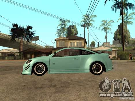 Chevrolet Cobalt SS NFS Shift Tuning for GTA San Andreas left view