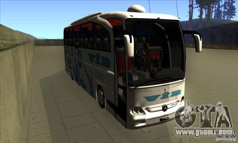 Mercedes-Benz Travego 15 SHD for GTA San Andreas back view