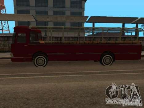 LIAZ 677 Excursion for GTA San Andreas left view