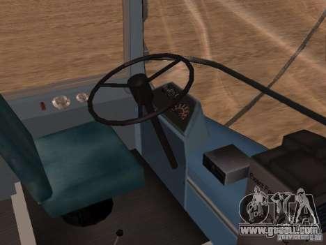 GM TDH-5303 for GTA San Andreas inner view