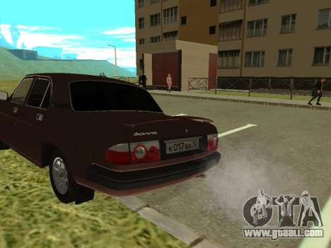 Volga GAZ 3110 for GTA San Andreas right view