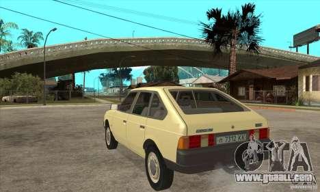 2141 AZLK for GTA San Andreas back left view
