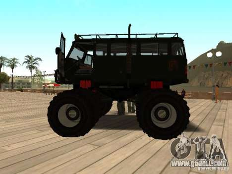 Uaz Monster for GTA San Andreas left view