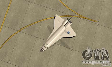 Space Shuttle Discovery for GTA San Andreas right view