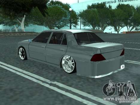 Toyota Crown S 150 TuninG for GTA San Andreas left view