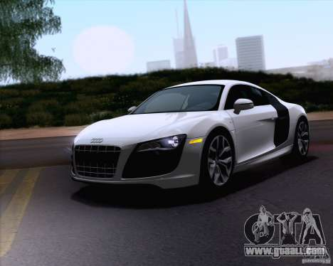 Audi R8 v10 2010 for GTA San Andreas