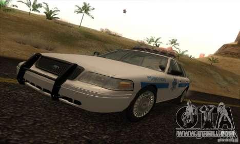 Ford Crown Victoria Arizona Police for GTA San Andreas