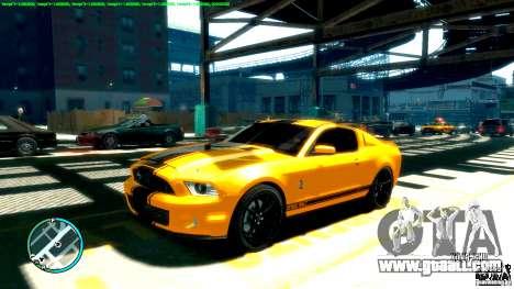 Shelby GT500 Super Snake 2011 for GTA 4
