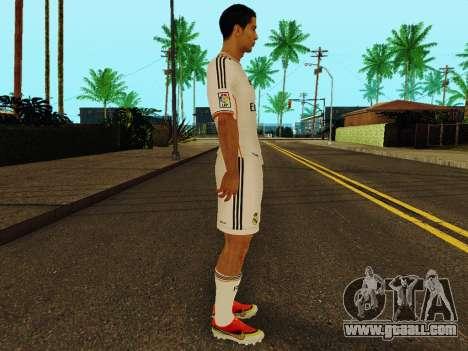 Cristiano Ronaldo v1 for GTA San Andreas second screenshot