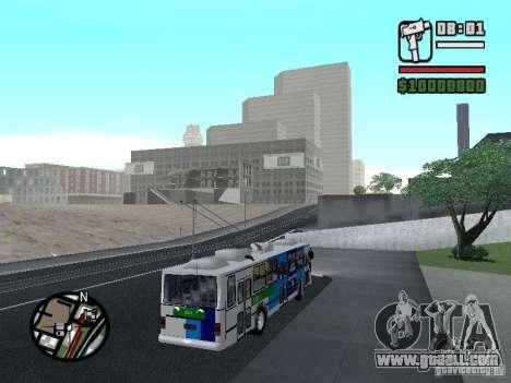 Cobrasma Monobloco Patrol II Trolerbus for GTA San Andreas right view