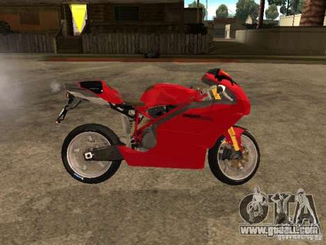 Ducati 999s for GTA San Andreas left view