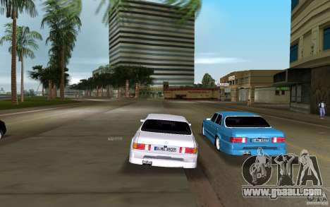 Mercedes-Benz W126 Wild Stile Edition for GTA Vice City back view