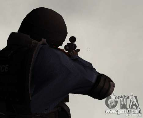 Rifle from GTA IV for GTA San Andreas third screenshot