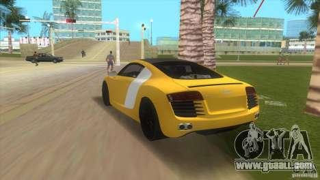 Audi R8 V10 TT Black Revel for GTA Vice City left view
