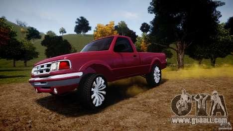 Ford Ranger for GTA 4 wheels