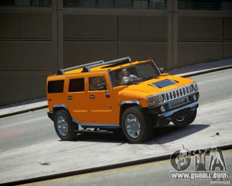 Hummer H2 2010 Limited Edition for GTA 4