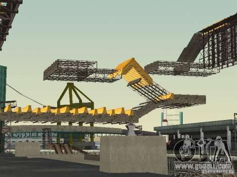 Huge MonsterTruck Track for GTA San Andreas forth screenshot