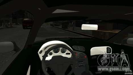 Mazda RX7 1995 Stock [EPM] for GTA 4 inner view