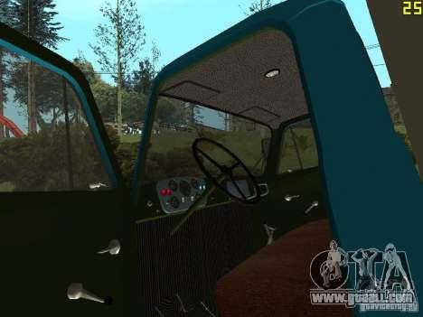 GAZ 52 for GTA San Andreas back view