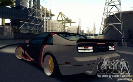 Nissan 300ZX Bad Shark for GTA San Andreas right view