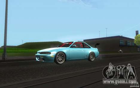 Nissan Silvia S14 Zenkitron for GTA San Andreas left view