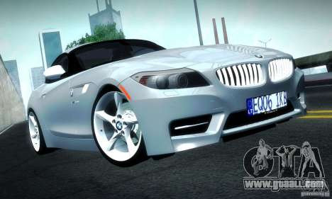 BMW Z4 Stock 2010 for GTA San Andreas left view
