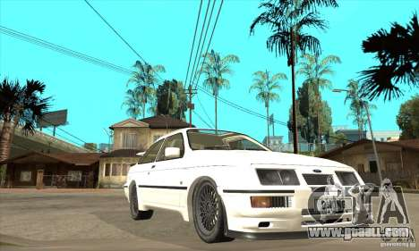 Ford Sierra RS500 Cosworth 1987 for GTA San Andreas side view
