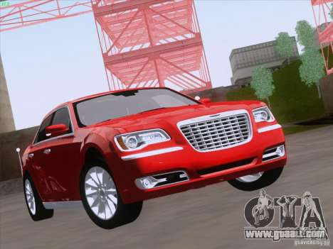 Chrysler 300 Limited 2013 for GTA San Andreas left view