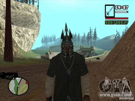 Helmet Ner Zula for GTA San Andreas second screenshot