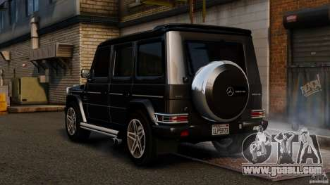 Mercedes-Benz G55 AMG 2011 for GTA 4 back left view