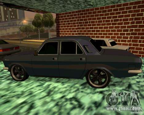 GAS 24 v3 for GTA San Andreas left view