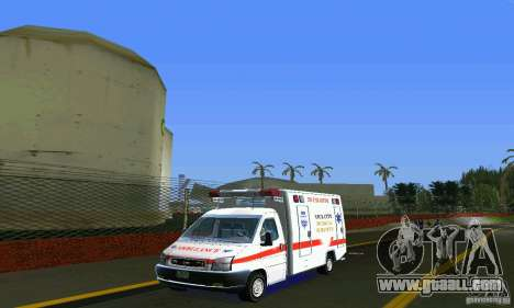 RTW Ambulance for GTA Vice City