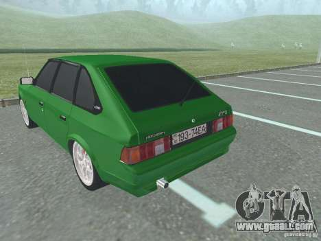 Moskvich 2141 for GTA San Andreas right view