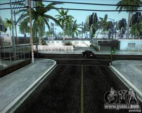 New roads around San Andreas for GTA San Andreas
