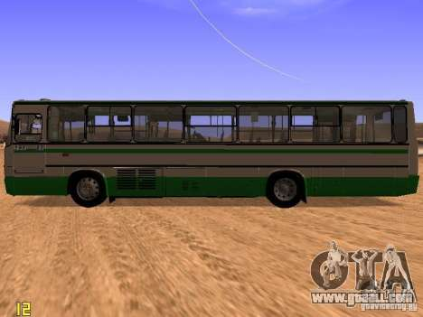 Ikarus C63 for GTA San Andreas left view